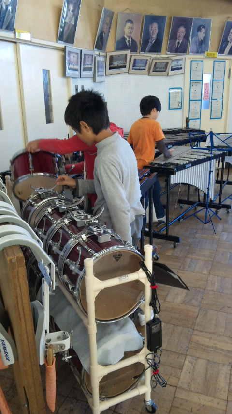 打楽器指導
